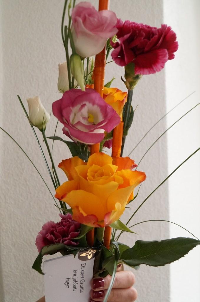 Blommor från Inger Bjelke