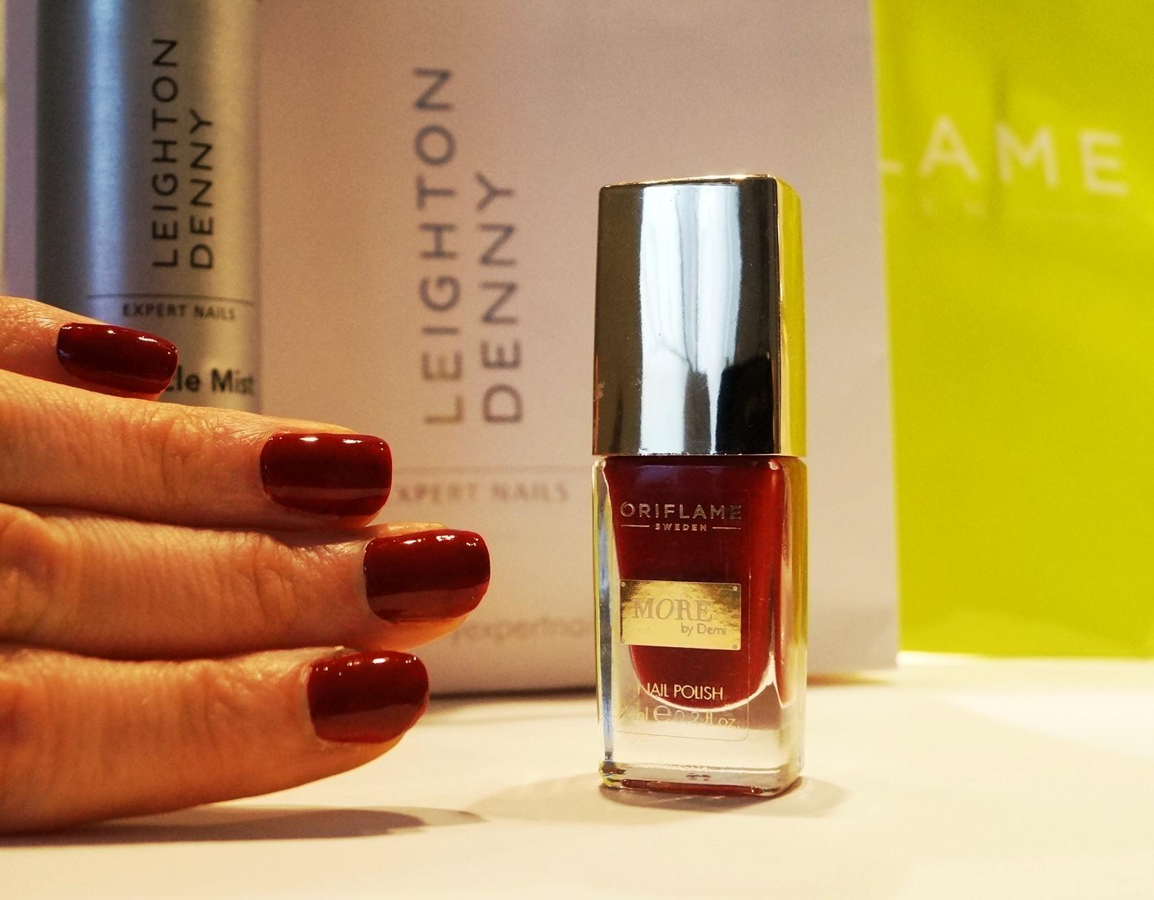 More by Demi Oriflame nagellack är riktigt bra.