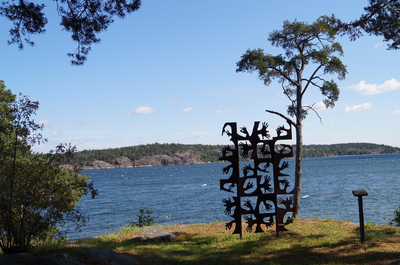 Utsikt från Vår Gård, hotell i Stockholm. Foto Anneli Uusitalo Vackert Nu