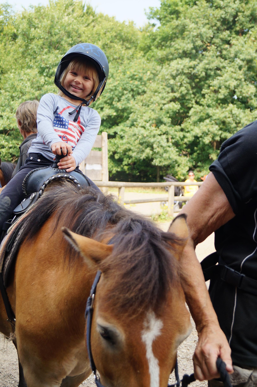 Ponnyridning. Foto: Anneli Uusitalo, Vackert.Nu
