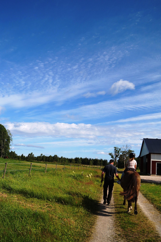 Ridtur. Foto: Anneli Uusitalo Vackert.Nu