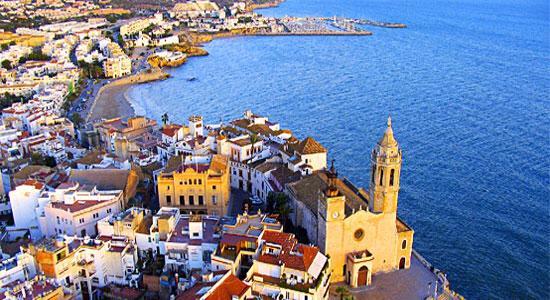 Resan med Oriflame hösten 2014 går till Sitges, Barcelona