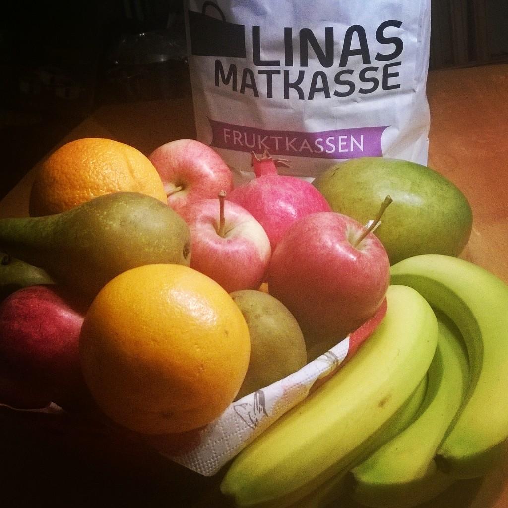 Frukt från Linas Matkasse Foto: Anneli Uusitalo Vackert.Nu