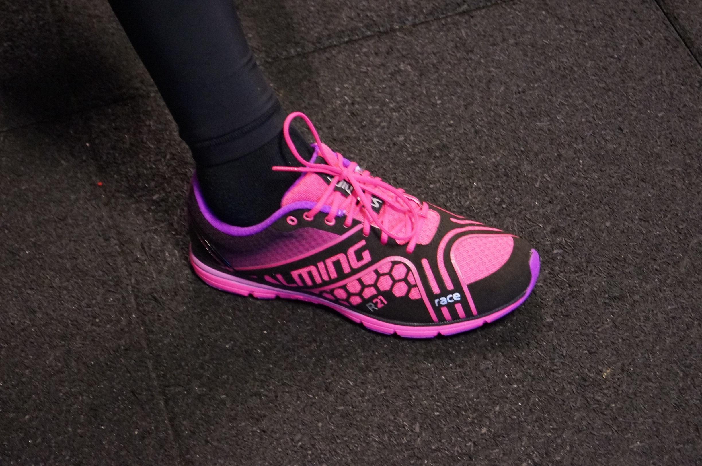 Superlätta skor från Salming. Foto: Ella Uusitalo
