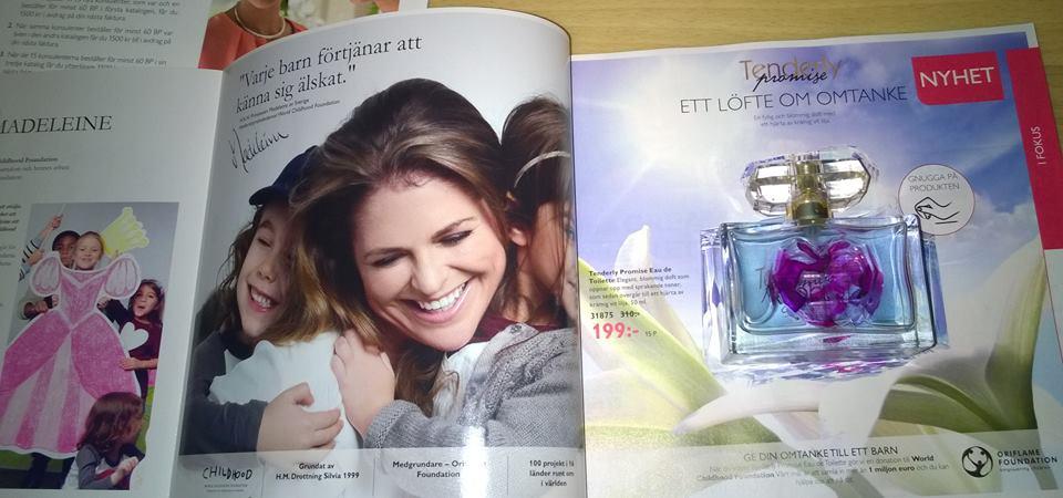 Tenderly Promise i lanseras i katalog från Oriflame