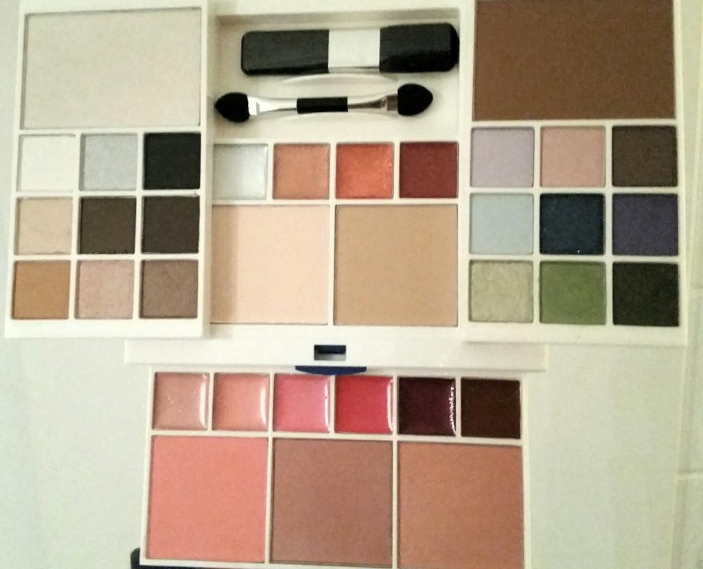 Palett med färger
